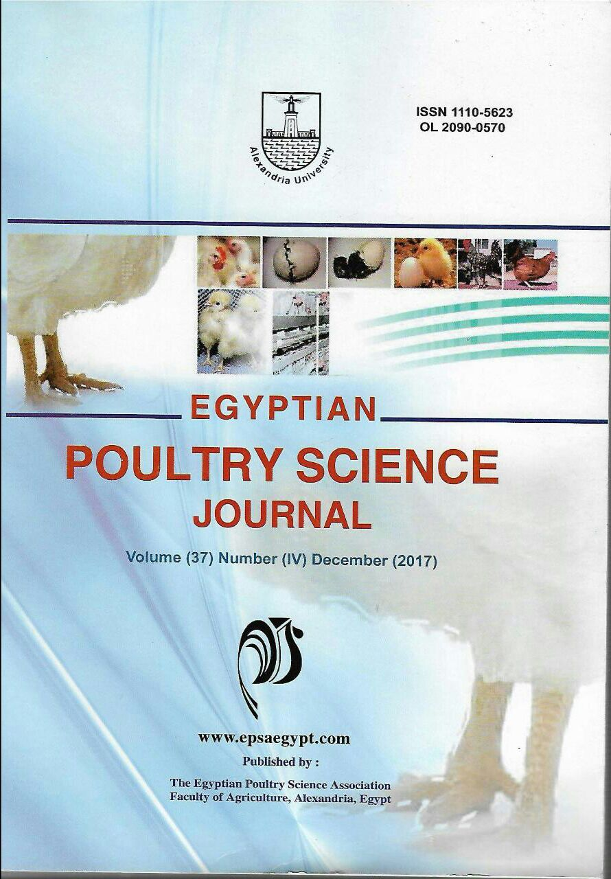 Egyptian Poultry Science Journal